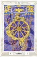 10 Fortune Thoth Tarot