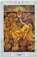 11 Lust Thoth Tarot