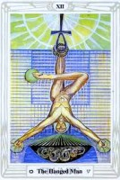 12 Hanged Man Thoth Tarot