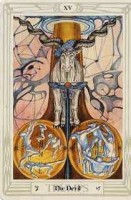 15 Devil Thoth Tarot