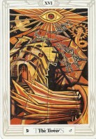 16 Tower Thoth Tarot