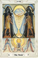18 Moon Thoth Tarot