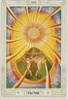 19 Sun Thoth Tarot