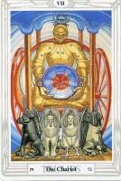 7. Chariot Thoth Tarot