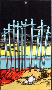 Ryder Waite Ten of Swords