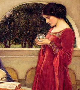 waterhouse fortune teller