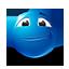 {blue}:face:
