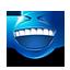 {blue}:laugh: