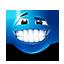 {blue}:smile: